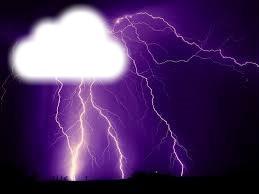 éclaire orage
