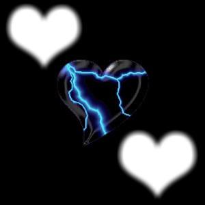 coeur eclaire