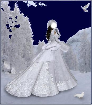 femme des neige