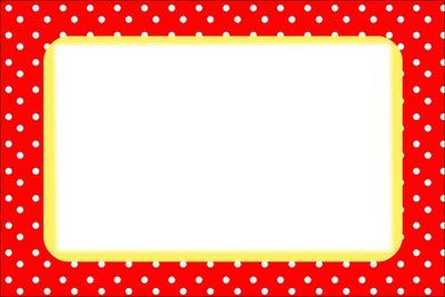Moldura-Quadro vermelho e amarelo. 2