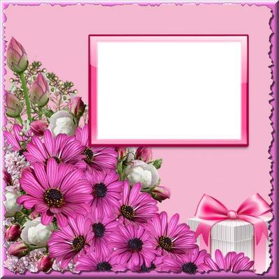 Love Flower Photo Frame - Flowers Healthy