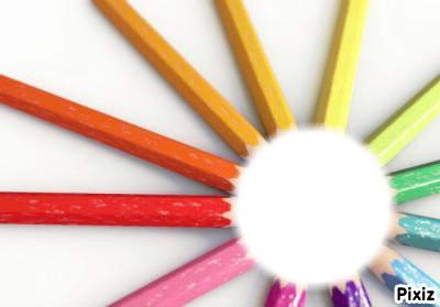 Le soleil a 12 crayons