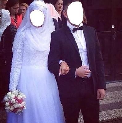 Montage photo Couple arabe , Pixiz