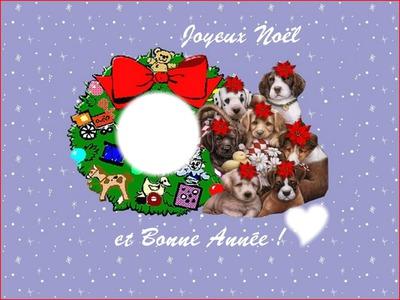 Bonne Annee Joyeux Noel.Photo Montage Joyeux Noel Bonne Annee Pixiz