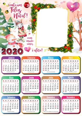 renewilly calendario feliz 2020