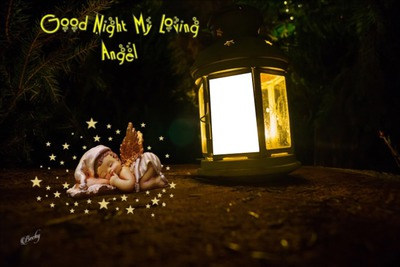 good night loving angel
