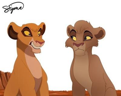 Lion king Lion guard Vitani