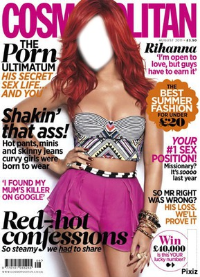 rihanna magazine cosmopolitan