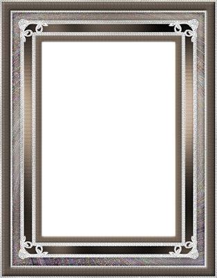 cadre gris gris foncé
