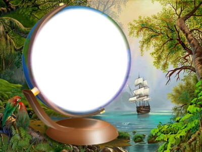 paisaje y barco 1 foto