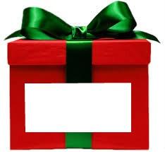 Photo sur ou dans un cadeau