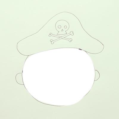 face de pirate