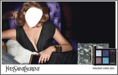 Yves Saint Laurent Holiday Look 2012 Advertising