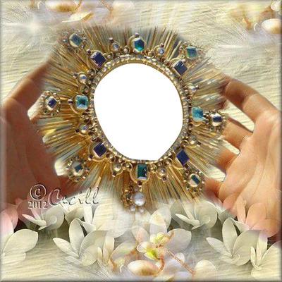 un beau medaillon