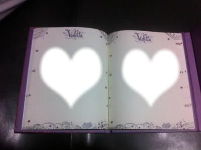 diario de violetta  2 tinistas de corazon