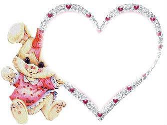 coeur lapin