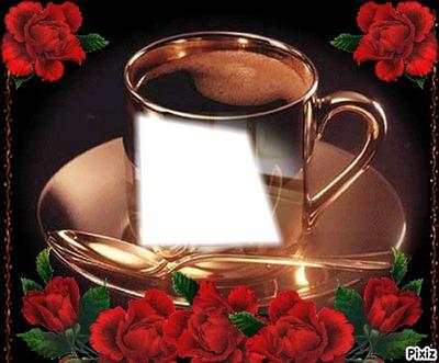 une tasse de cafe personalisé.