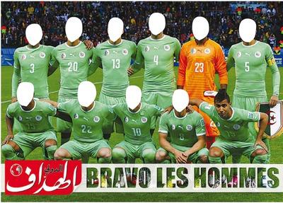 l'equipe nationale d'algerie