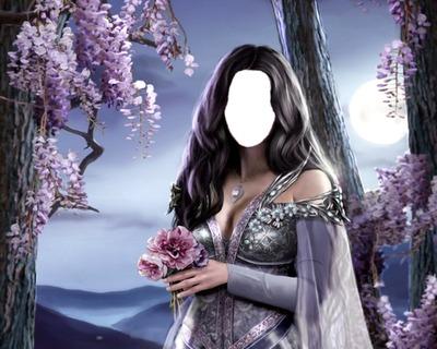 "Beautiful Fantasy Girl ""Face"""