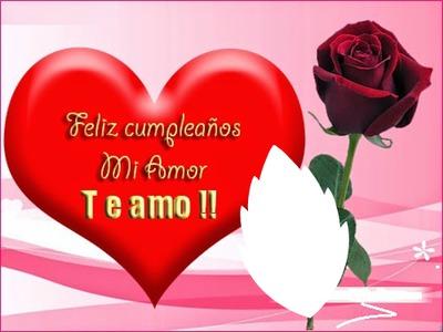 cumpleaños amor