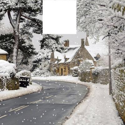 village de neige