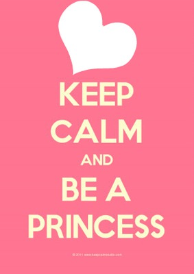 Photo montage Keep calm and be a princess - Pixiz 0fd87536078