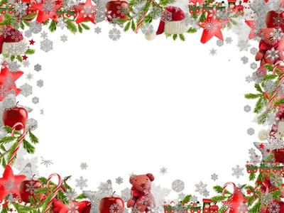 Cadre Noel 2 photos