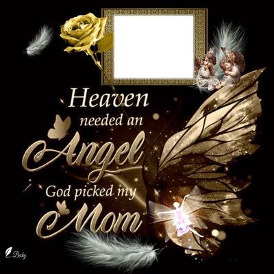 heaven needed a angel