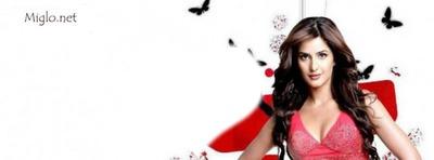 couverture de katrina kaif rouge