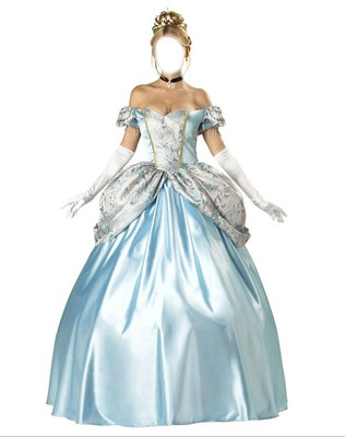 Princesse Cendrillon adulte