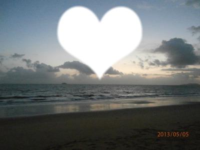 L'amour,au bord de la mer