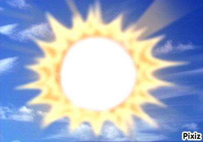 visage bébé du soleil