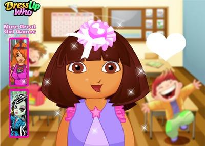 Visage de Dora