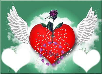 фотомонтаж L Amour Love Pixiz