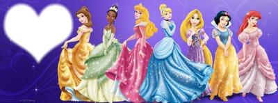 presque toute les princesse disney