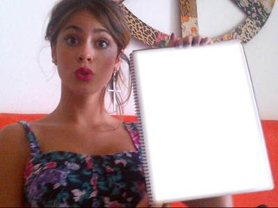 Cuaderno de Tini Stoessel