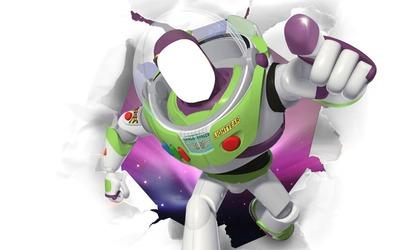 Face cut out Buzz Lightyear