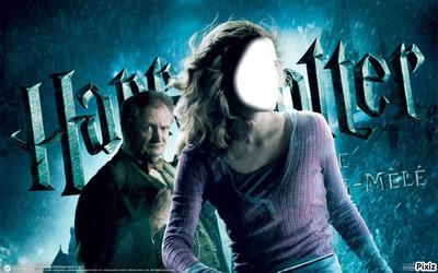 hermione granger et hectot slugorne