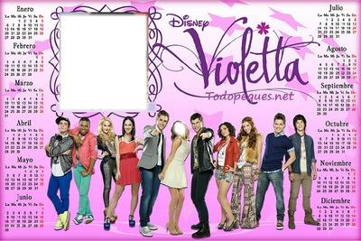 calendario 2014 violetta 2 fotos