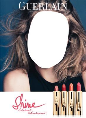 Guerlain Shine Rouge Automatique Lipstick Advertising