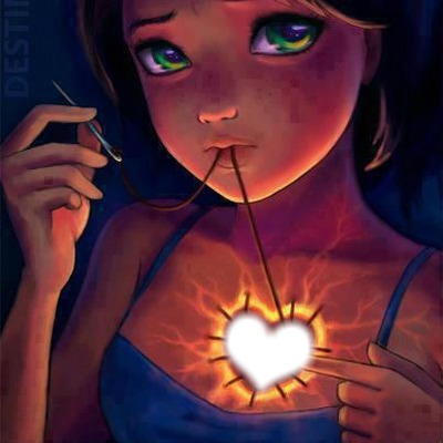 Le coeur brise