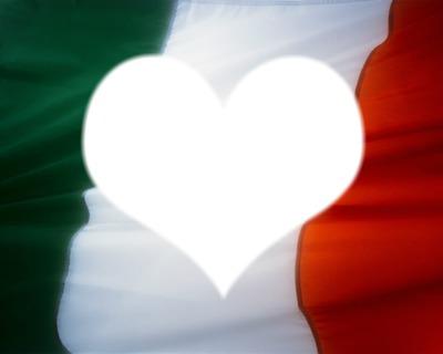 Grand drapeau d'Italie