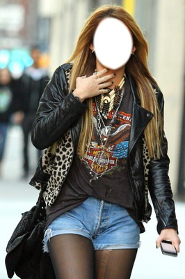 Miley Cyrus-Photomontaje Slow.