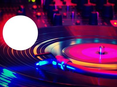 tourne disque disco