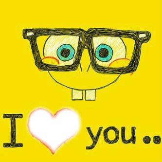 I love you bob l'éponge