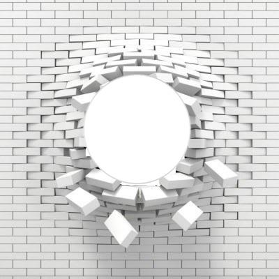 Exmplosion d'un mur