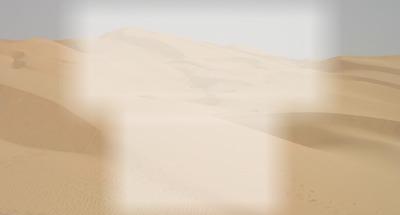 La guerre des étoiles Paysage de la planète Tatooine