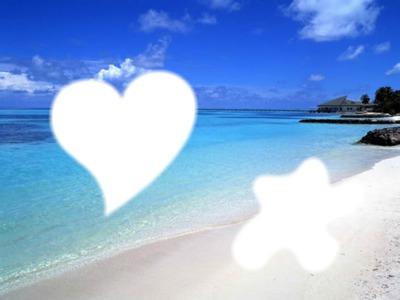 la vie au soleil sur une plage