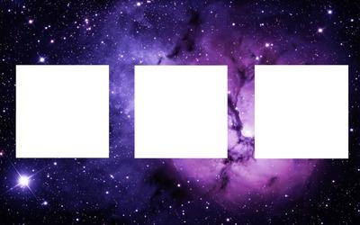 3 cadres galaxy