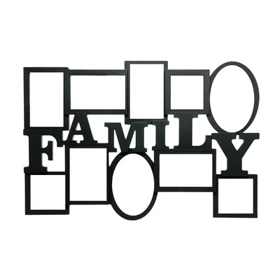 Photo montage family photo frame - Pixiz